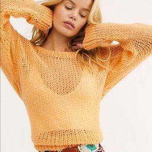 NWOT free people light n lofty sweater